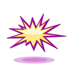 Burst icon vector