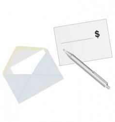 Mailing envelope vector
