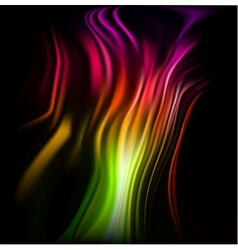 Colorful wavy abstract background for design vector