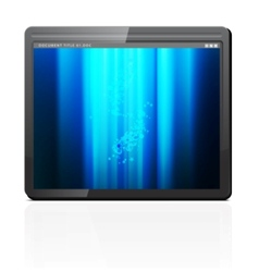 Mobile tablet pc vector