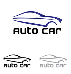 Auto car logo vector
