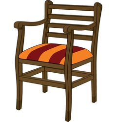Old chair vector