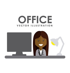 Office concept vector