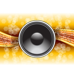 Speaker background vector