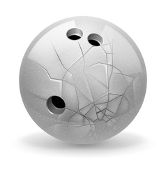 Broken ball vector