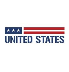 United states symbol vector