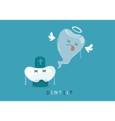 Die tooth vector