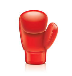 Object boxing glove vector