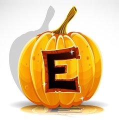 Halloween pumpkin e vector