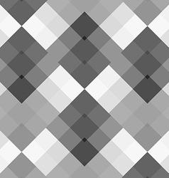 Monochrome gray seamless pattern geometric vector
