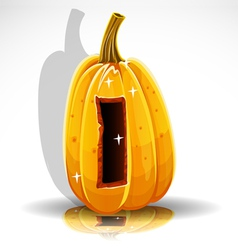 Halloween pumpkin i vector