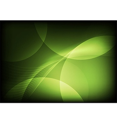 Green abstract backgrounds vector