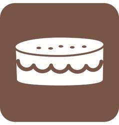 Cake small vector