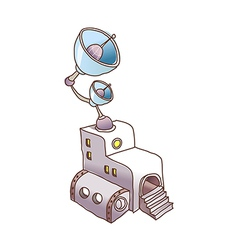 A broadcasting station vector