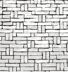 New brick wall of negative space vector
