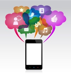 Mobile communication vector
