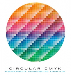 Cmyk color palette vector