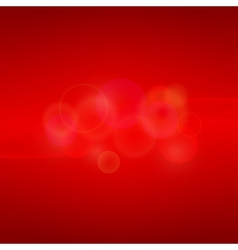 Red abstract background with light vector