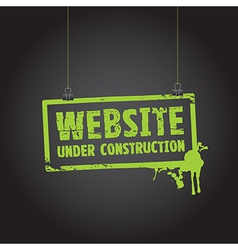 Website paper sign vector