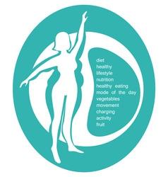 Conceptual - a healthy lifestyle vector