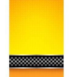 Racing blank background vector