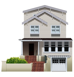 A big residential property vector