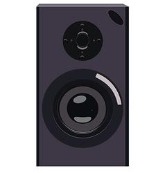 Black speaker vector