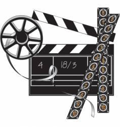 Filmmaker set vector