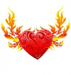 Heart graphic vector