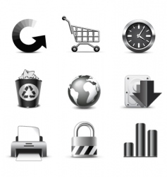 Web icons   series vector