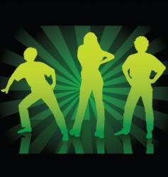Dance parade vector
