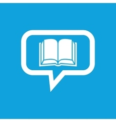 Book message icon vector