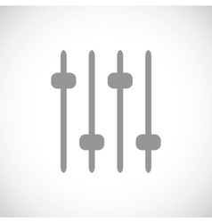 Sound black icon vector