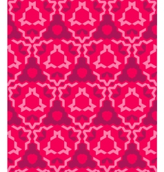 Abstract geometric red pink seamless pattern vector