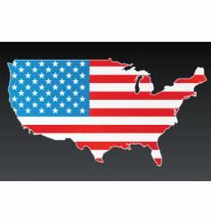Map american vector