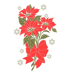 Flower of christmas night vector