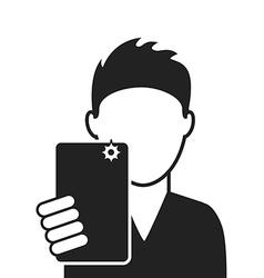 Selfie vector
