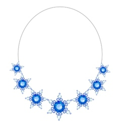 Necklace vector