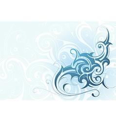 Elegant water splash vector