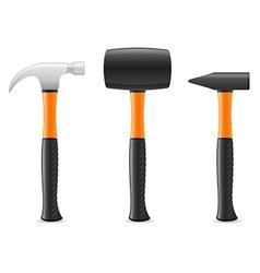 Tool hammer 04 vector