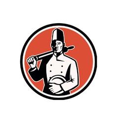 Cook chef baker vector