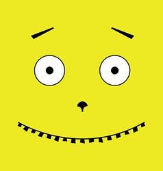Unusual face vector