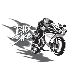 Big bike vector