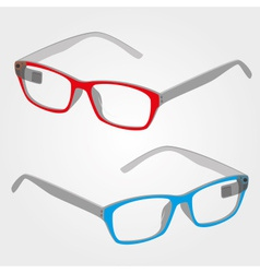 Wearable electronics color smart glasses with vector