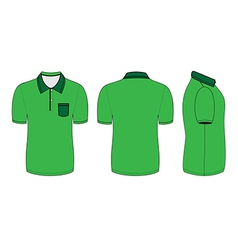 Polo shirt design templates vector