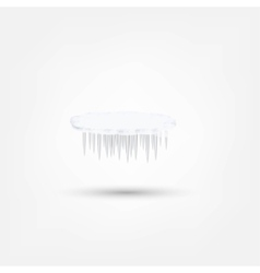 Icicles icon vector