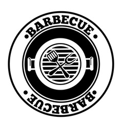 Barbecue design vector