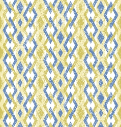 Geometric pattern with color rhombus vector
