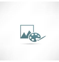 Photograph icon vector