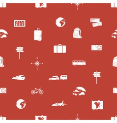Travelling icons pattern eps10 vector